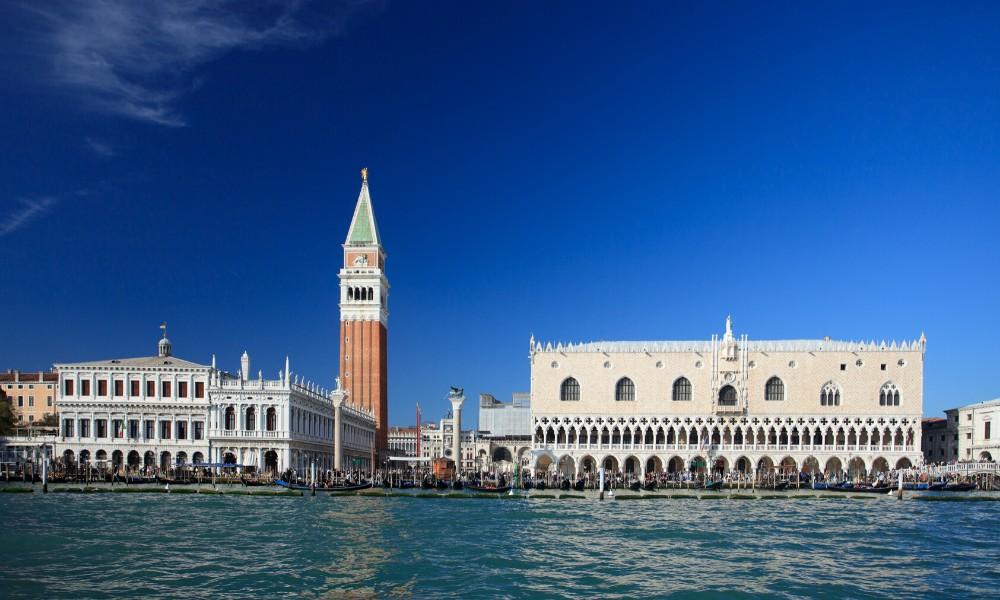 Der Markusplatz in Venedig