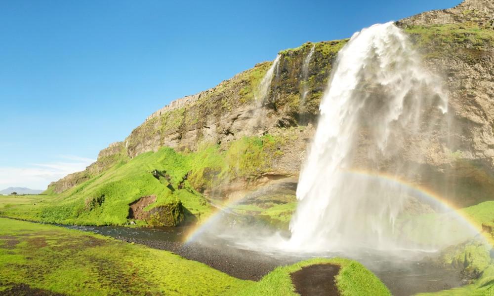 Seljalandsfoss auf Island