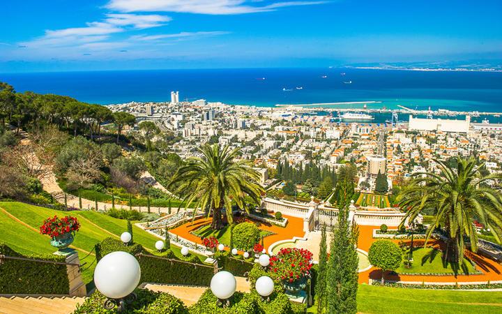 Bahai Gärten in Haifa © Anton_Ivanov / Shutterstock.com