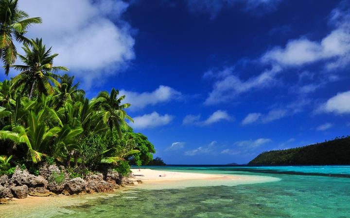 Traumhafter Strand auf den Tonga Inseln, Französisch-Polynesien © Stanislav Fosenbauer / Shutterstock.com
