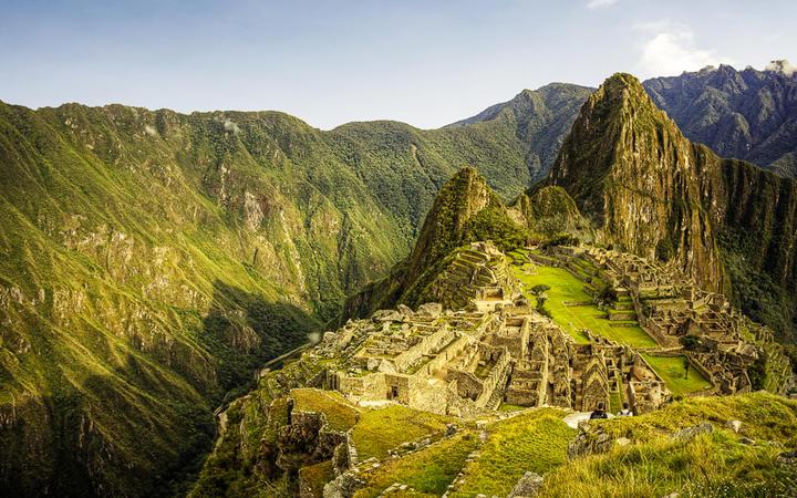 Die im 15. Jahrhundert von den Inkas errichtete Ruinenstadt Machu Picchu, Peru © Jeremy Reddington / shutterstock.com