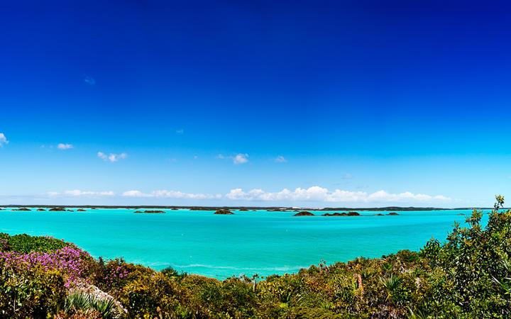 Blick auf den Chalk Sound Nationalpark auf der Insel Providenciales © Jo Ann Snover / Shutterstock.com