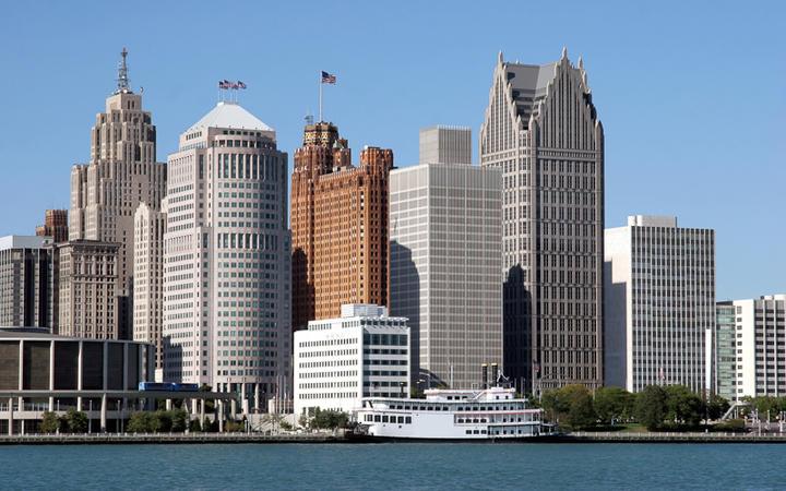 Skyline von Detroit © Vladimir Mucibabic / shutterstock.com