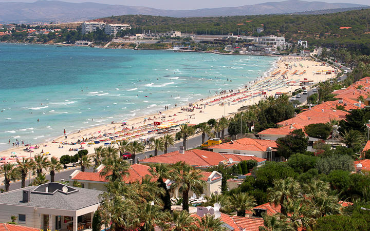 Der Ilica-Strand in Cesme © Prometheus72 / Shutterstock.com