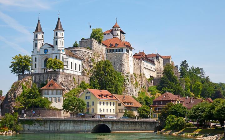 Die Festung Aarburg in der gleichnamigen Stadt © Fedor Selivanov / Shutterstock.com