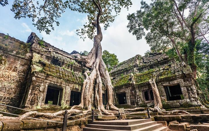 Der Tempel Ta Prohm in Angkor © Kushch Dmitry / Shutterstock.com