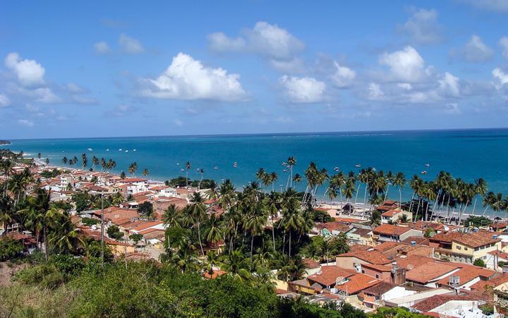 Blick über die Stadt Maragogi, Alagoas, Brasilien © JOSE ALBERTO TEJO / Shutterstock.com