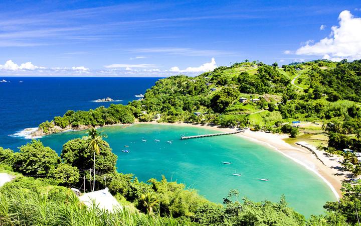 Blick auf die traumhafte Bucht Parlatuvier, Tobago © PHB.cz (Richard Semik) / Shutterstock.com