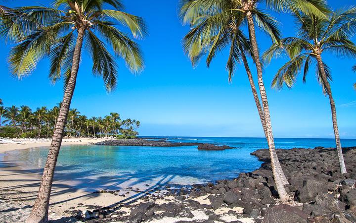Strand auf der Insel Big Island, Hawaii, USA © Marc Turcan / Shutterstock.com