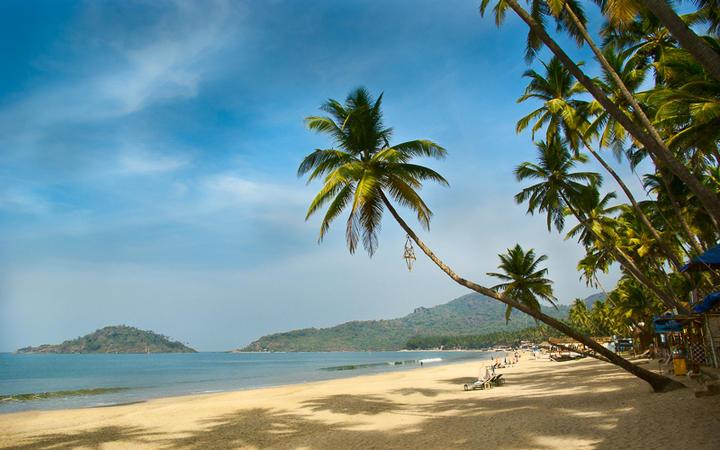 Tropischer Strand von Palolem in Goa, Indien © Val Shevchenko / Shutterstock.com