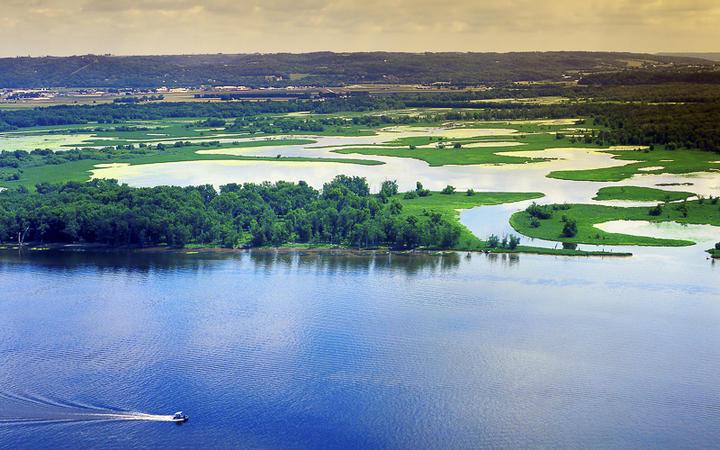 Mississippi Fluss © Pecold / shutterstock.com