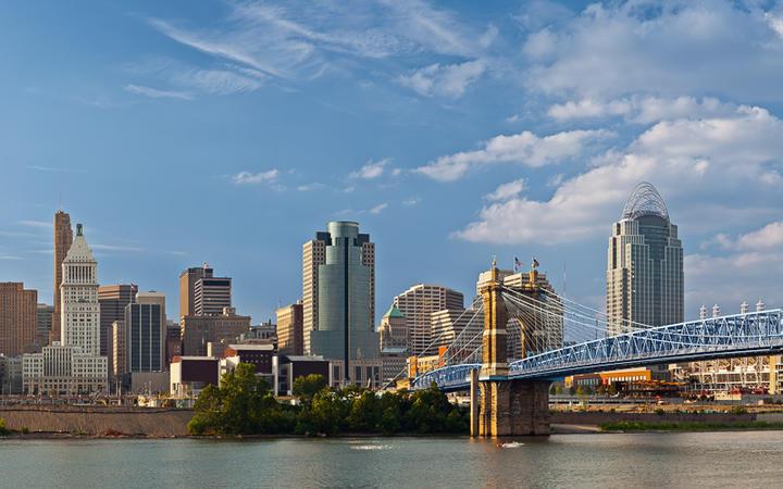 Skyline von Cincinnati © Rudy Balasko / shutterstock.com