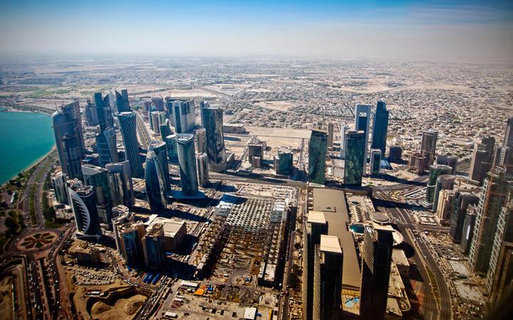 Blick über die Stadt Doha, Qatar © Makushin Alexey / Shutterstock.com