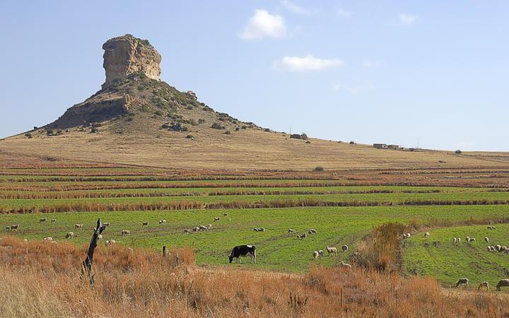 Clarens, Free State in Südafrika © Marietjie / Shutterstock.com