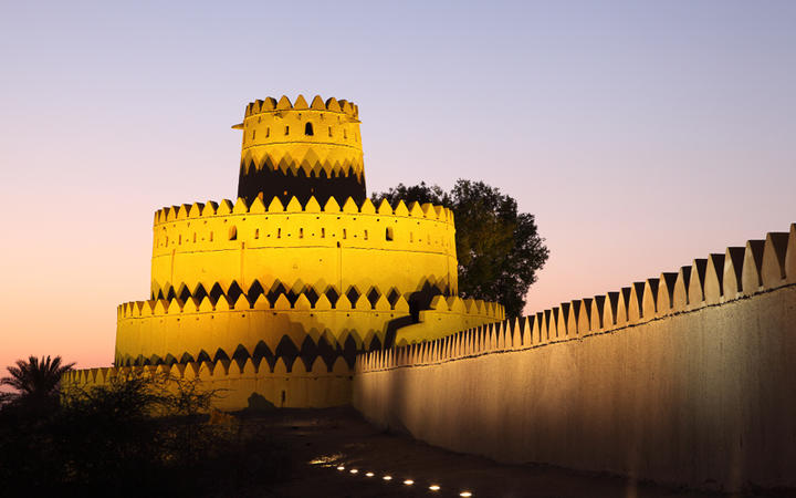 Das Al Jahili Fort in Al Ain © Philip Lange / Shutterstock.com