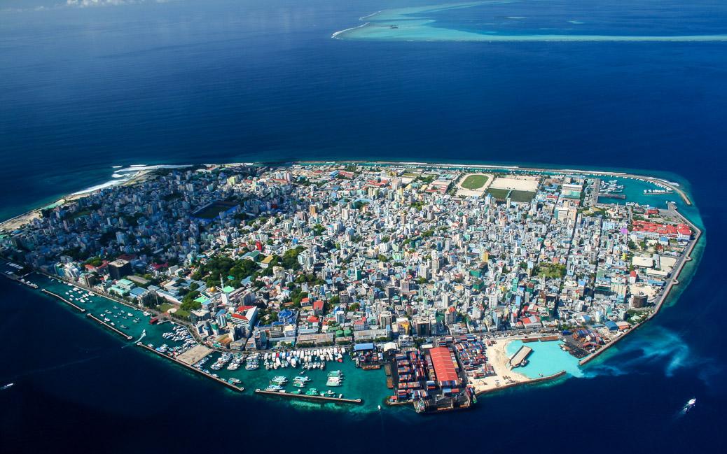 Blick auf Malé, Hauptstadt der Malediven © Mohamed Shareef / Shutterstock.com