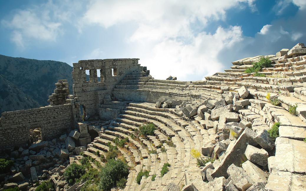 Amphiltheater von Termessos © Waj / shutterstock.com